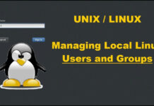 user group linux